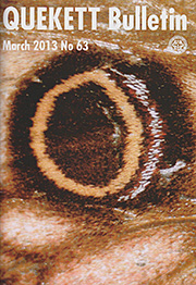 Cover of March 2013 Bulletin