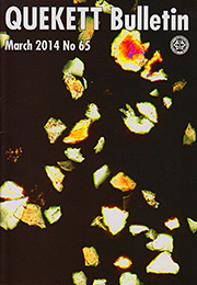 Cover of March 2014 Bulletin