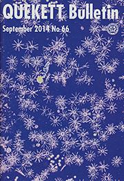 Cover of September 2014 Bulletin