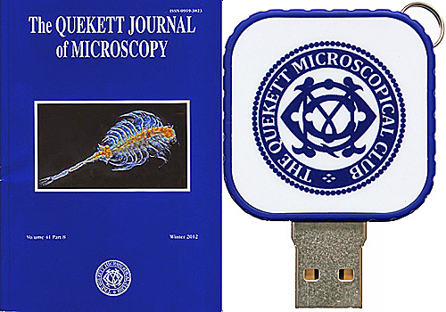 Journal on USB flash drive