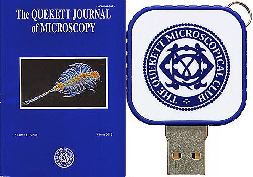 Journal on USB flash drive