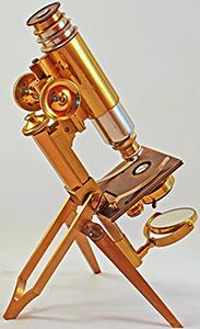 Antique Leitz microscope