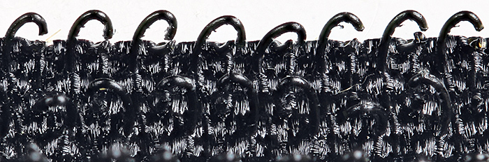 Black Velcro hooks