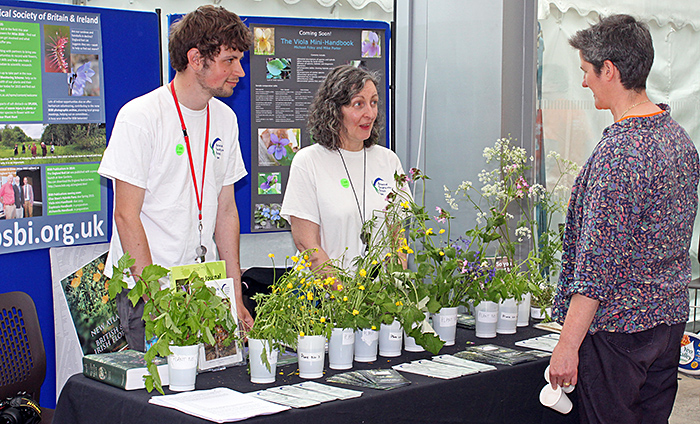 Botanical Society stand
