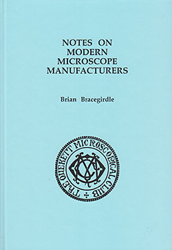 Notes on modern microscope manufacturers