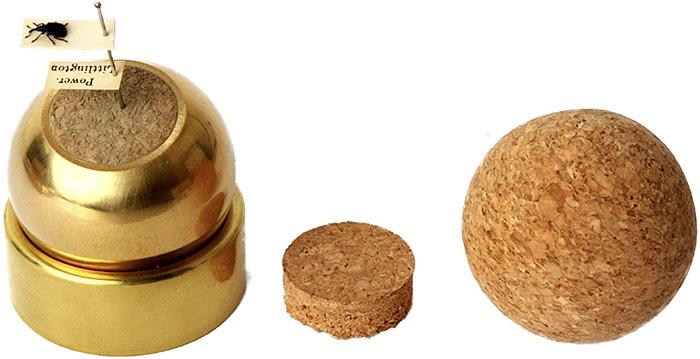 Brass specimen holder