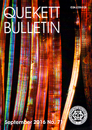 Bulletin 71 front cover