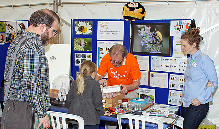 Bumblebee Conservation Trust stand