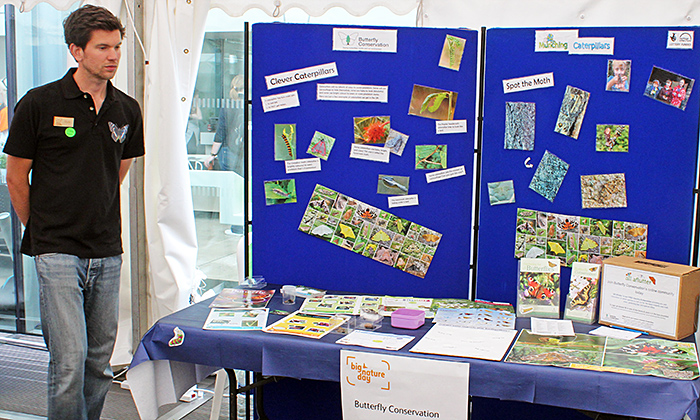 Butterfly Conservation stand