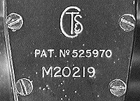 CTS serial number