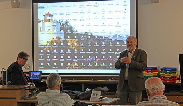 David Burder's presentation