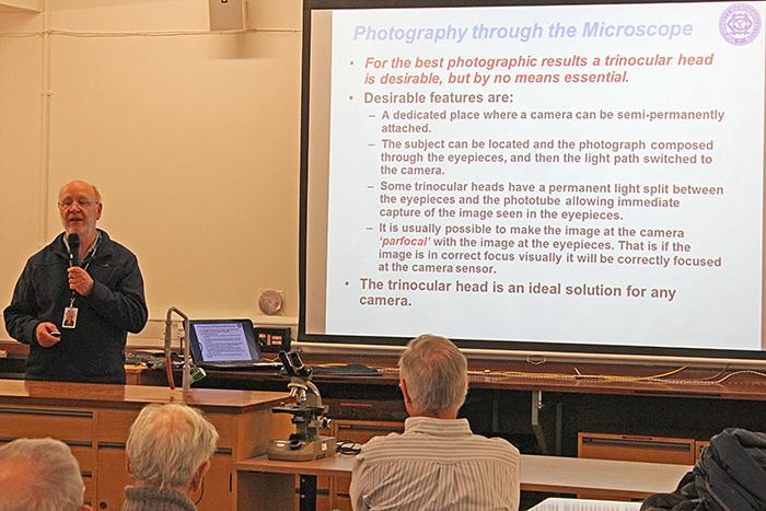 David Linstead's presentation
