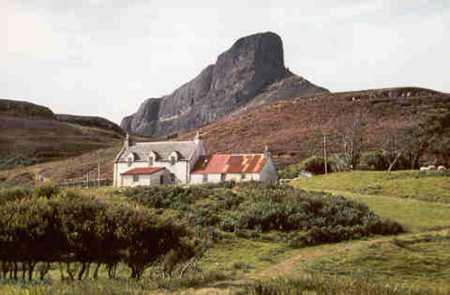 Cottage on Eigg
