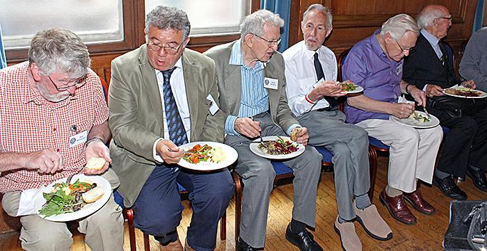 Fork buffet lunch