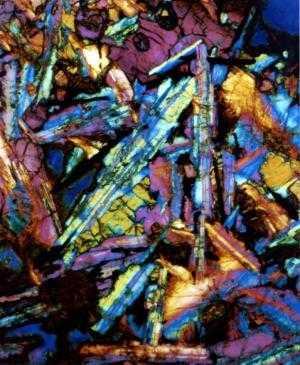 Hornfels crystals 3