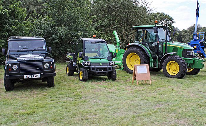 John Deere farm machinery
