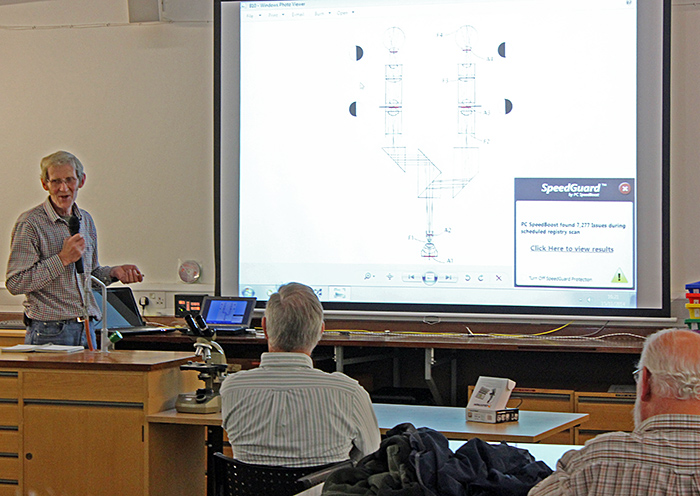 John Ward's presentation
