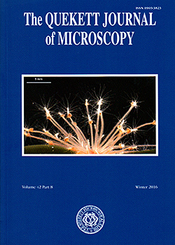 Front cover of Journal 2016 Winter