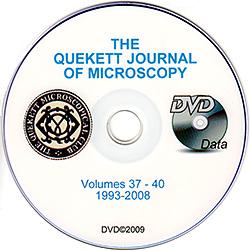 Quekett Journal of Microscopy 1993–2008 on DVD