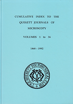Cumulative index to the Quekett Journals of Microscopy