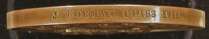 Norman medal edge