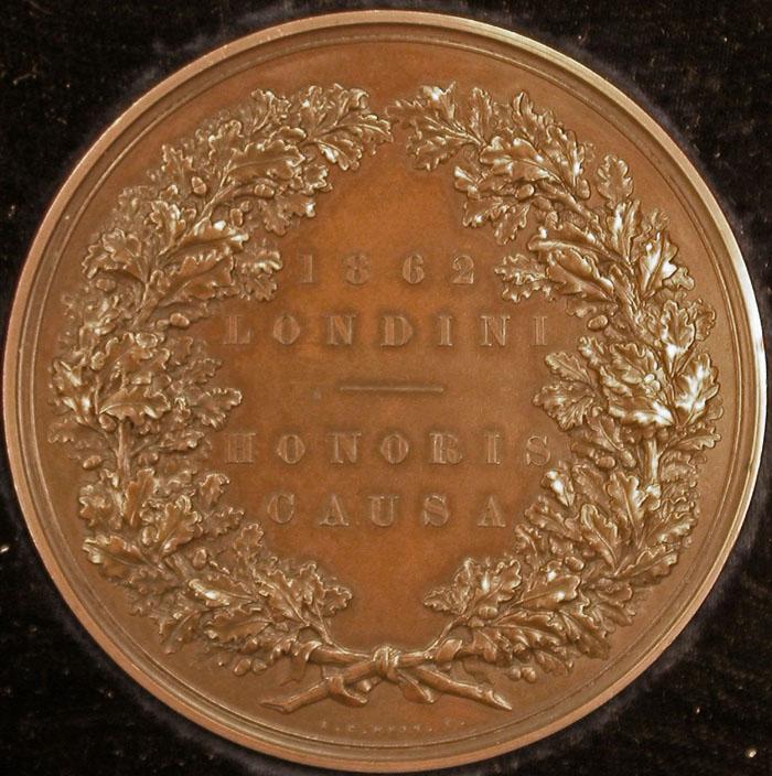 Norman medal obverse