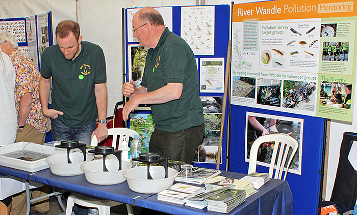 River Wandle stand
