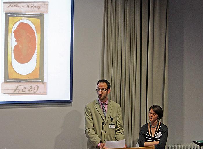Sam Alberti and Emmy Bocaege's presentation