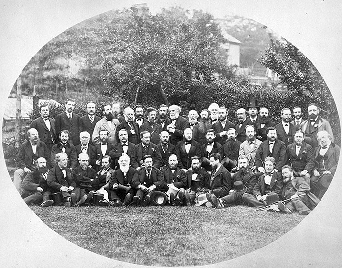 Old group photograph