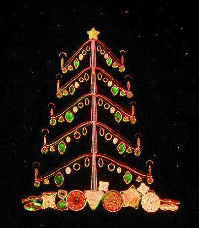 Diatom Christmas tree