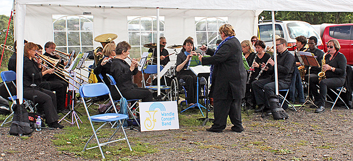 Listen to the Wandle Concert Band