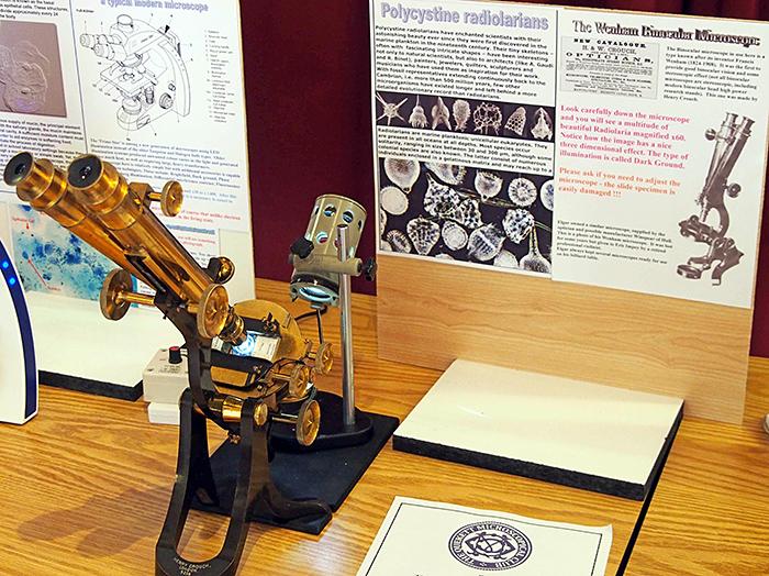Wenham binocular microscope