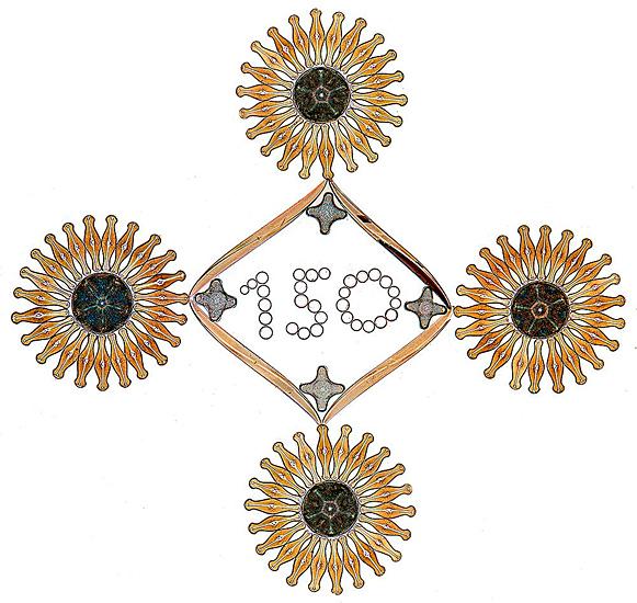 150th diatom arrangement