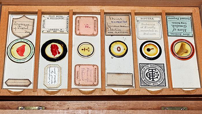 Dennis Fullwood's Victorian slides