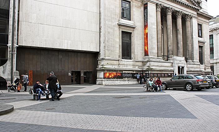 Entrances on Exhibition Road