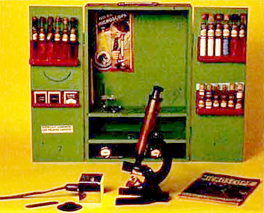 Gilbert Microscope Set