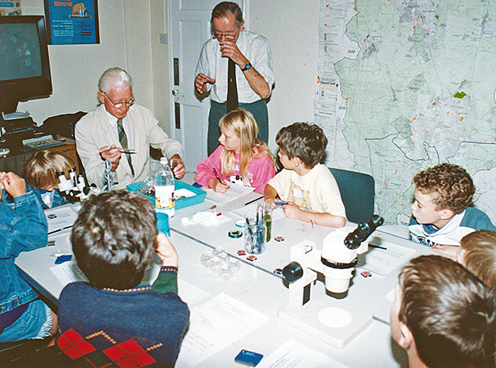 Members with children, 1995 St Albans