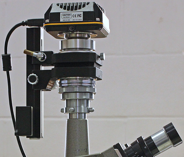 Tony Pattinson's ToupCam camera