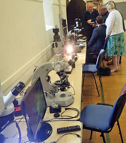 Microscope bench