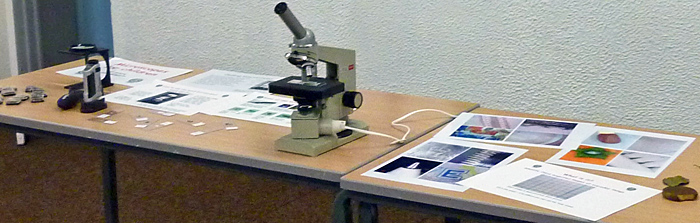 Lomo and NHM microscopes