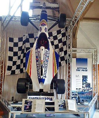Williams racing car