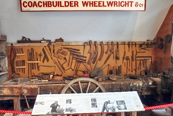 Wheelwright display