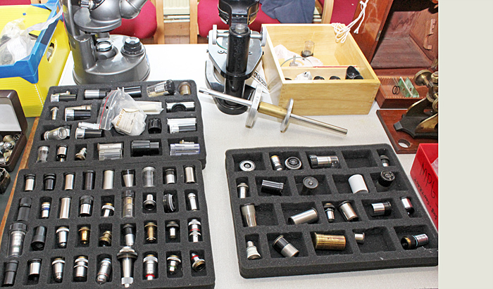 Brian Norman's eyepieces and objectives