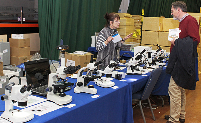 Brunel Microscopes stand