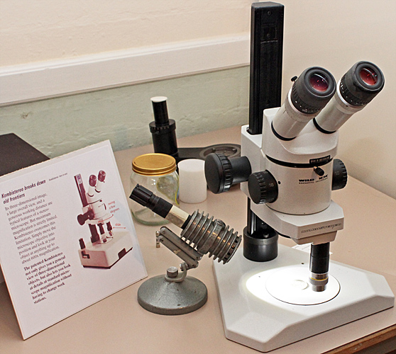 Wild M3C stereomicroscope with Kombistereo attachment