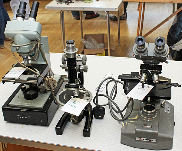Mike Woof's microscopes