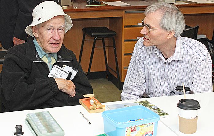 Norman Chapman and John Rhodes