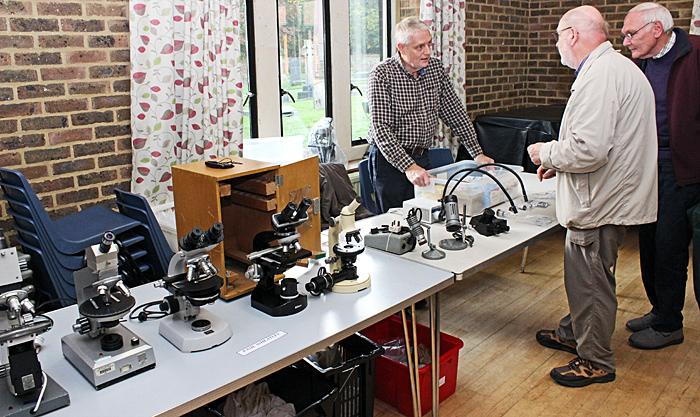 Paul Wheatley with David Linstead and John Birds