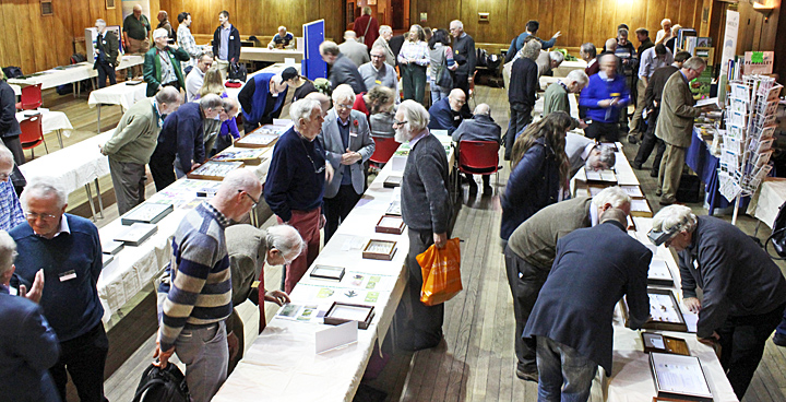 Visitors in Conway Hall
