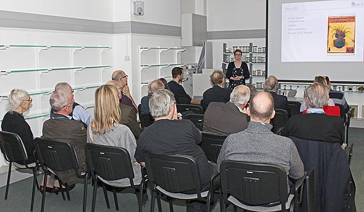 Presentation by Hannah Cornish
